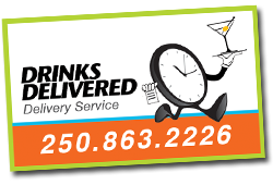 Link to Drinks Delivered website... partnered with Delivery Masters Kelowna